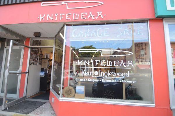 Knifewear Spring Garage Sale