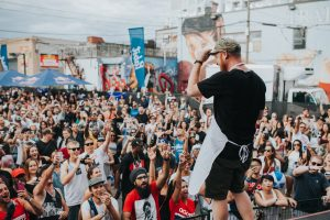 DJ Skratch Bastid brings his Bastid's BBQ to TD Place this weekend. Sean Berrigan Photography