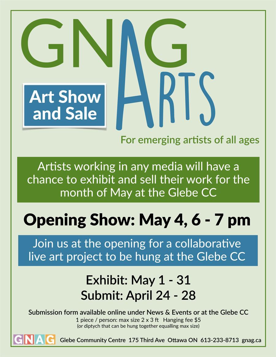 GNAG Arts Art Show and Sale