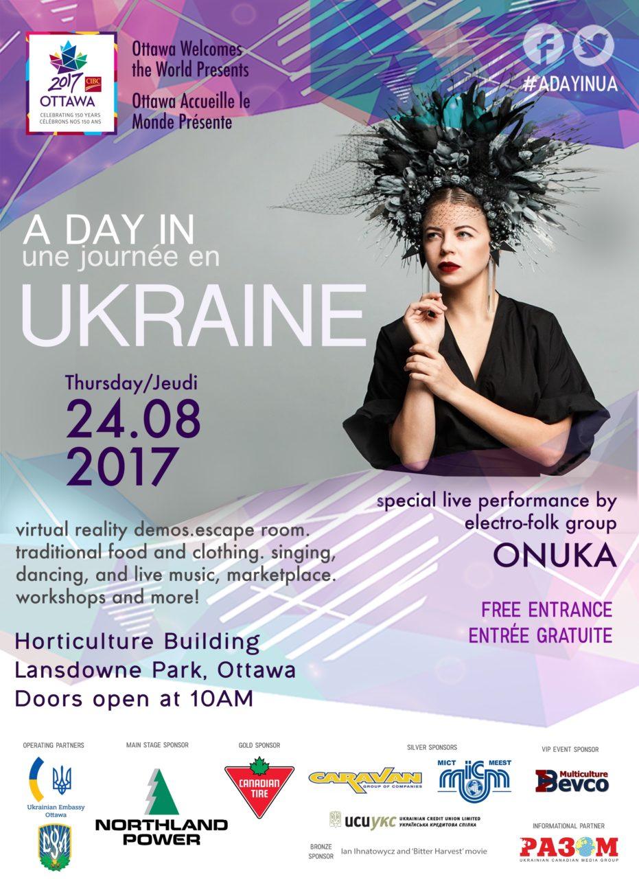 A Day in Ukraine - Ottawa Welcomes the World