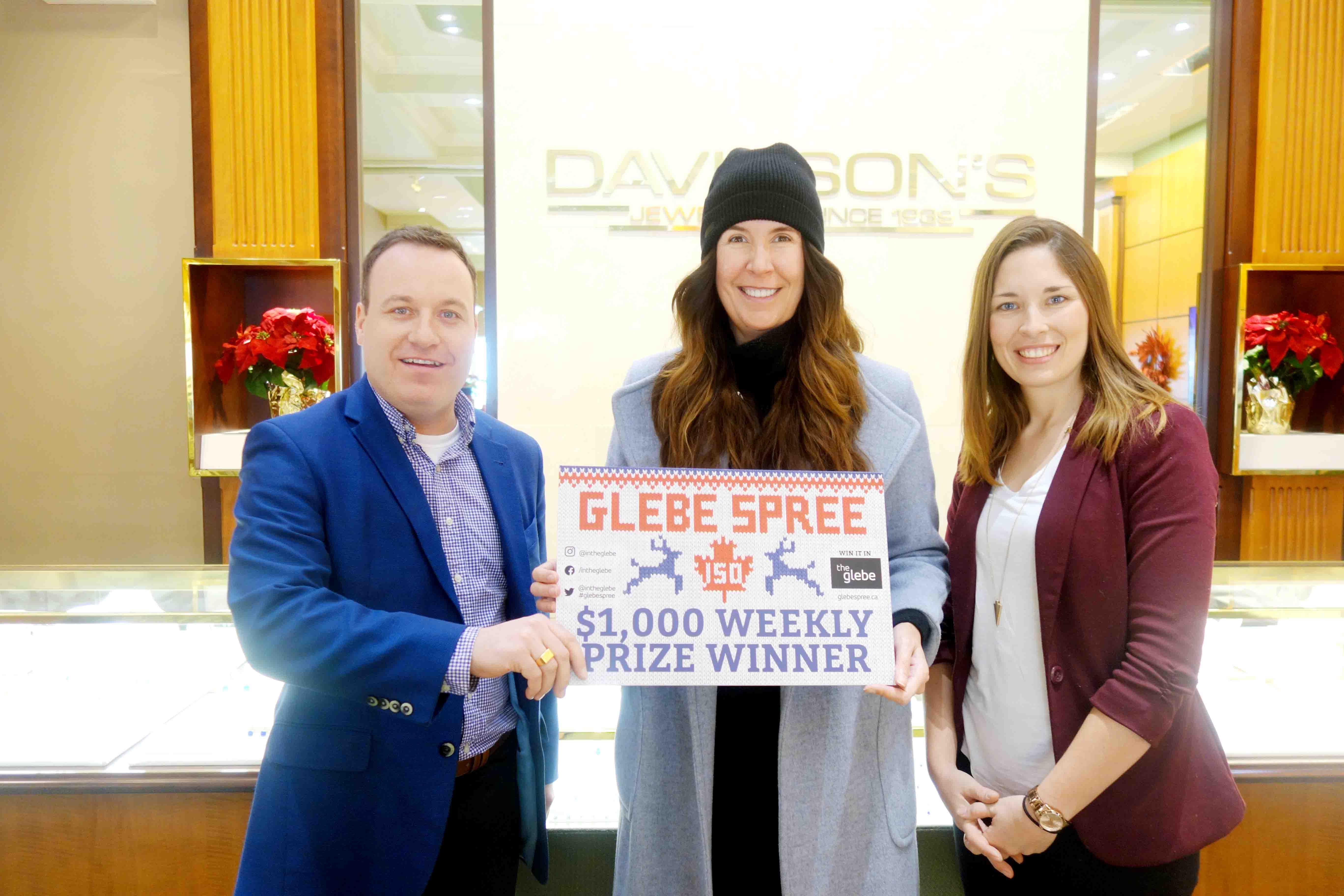 Glebe Spree $1,000 prize winners living it up in the Glebe