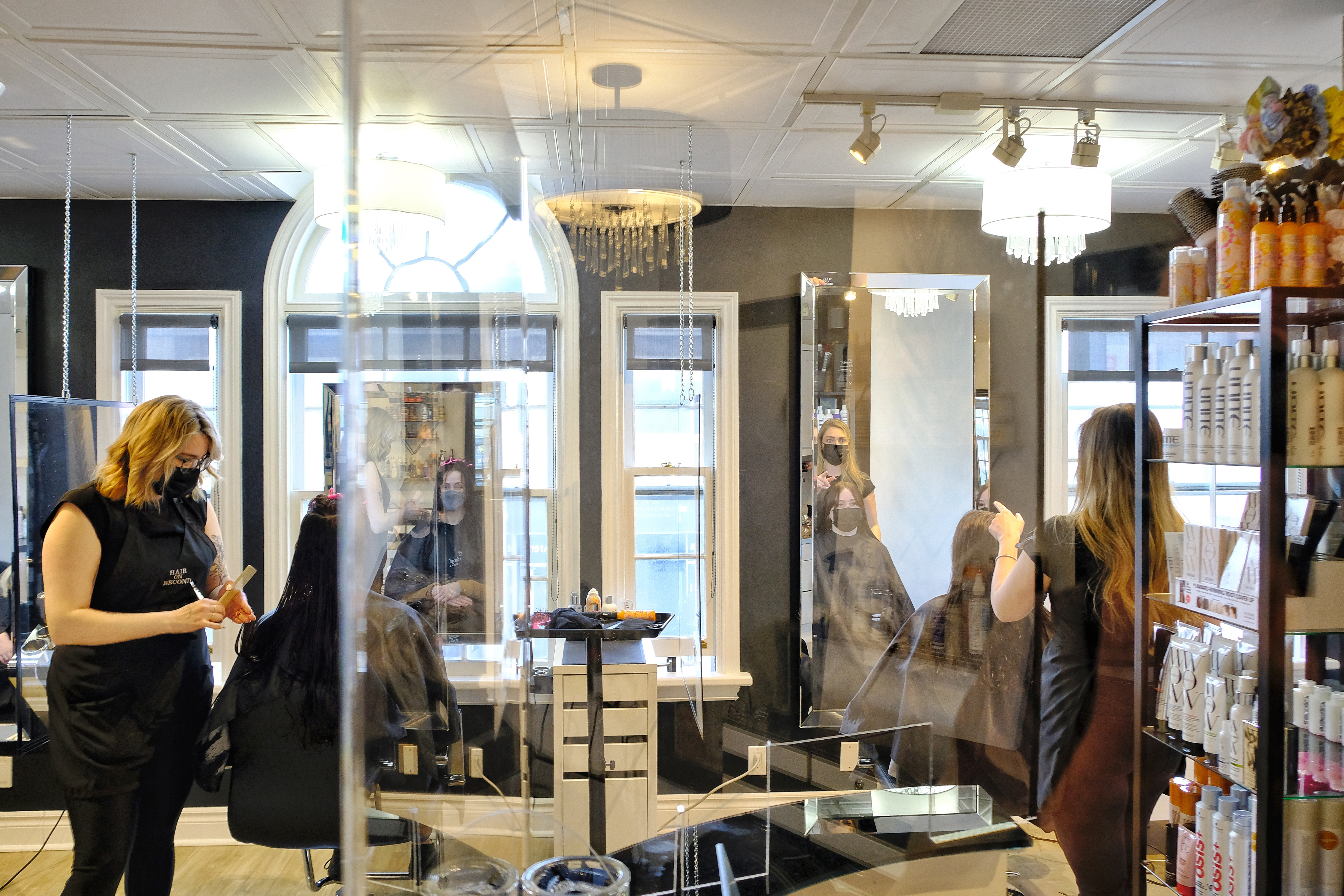 Get your hair did! Barber Shops and Hair Salons open this week in the Glebe